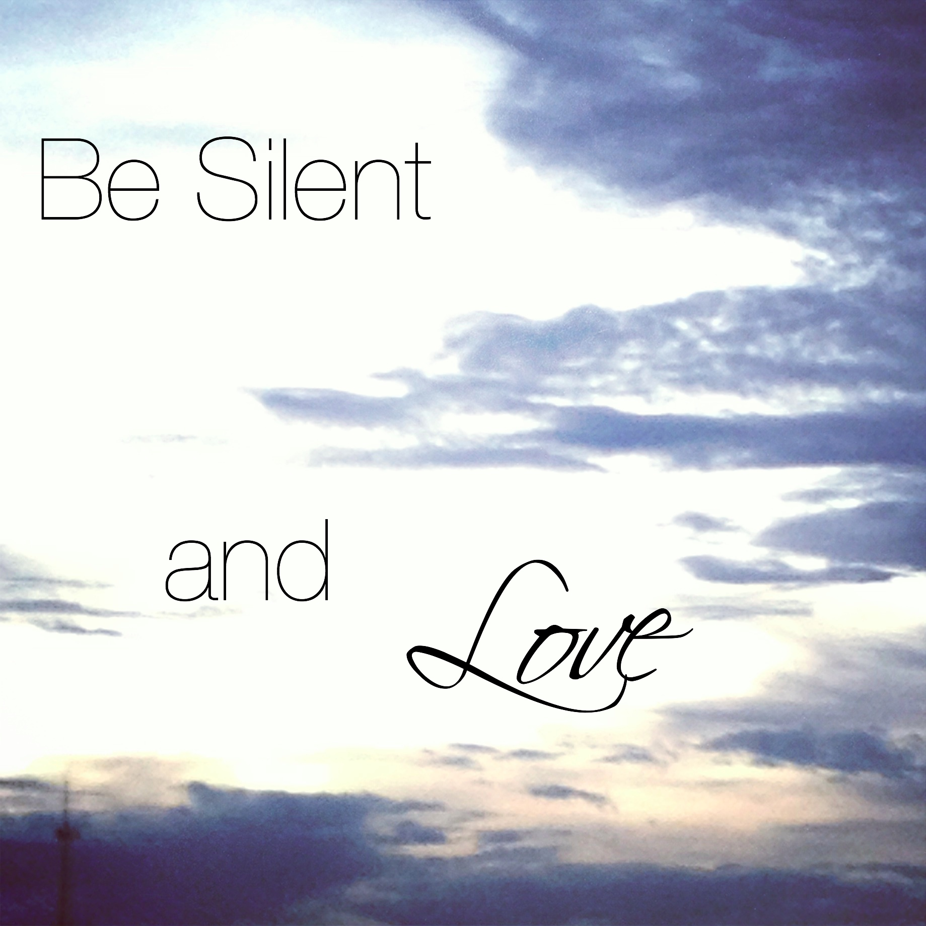 Displaying Images For - Silence Love...